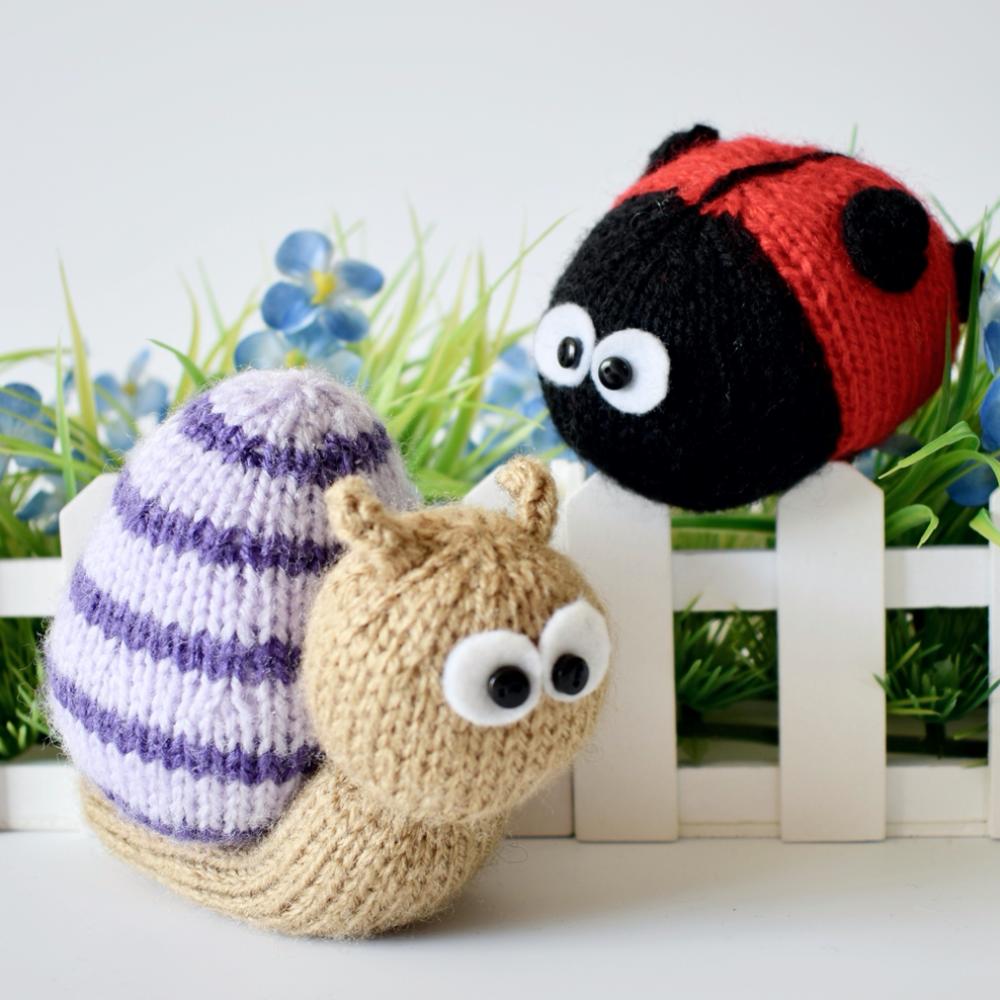 Sammy Snail and Lil Ladybug