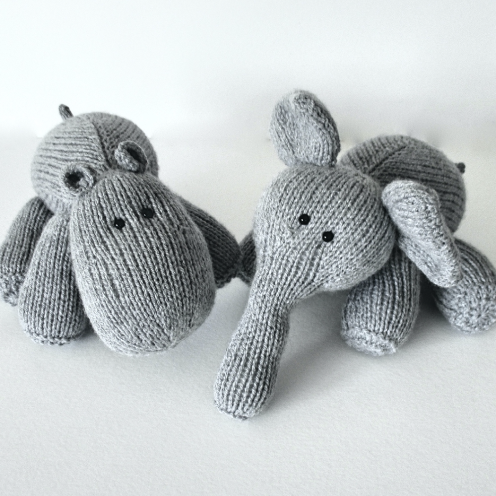 Hippo and Elephant