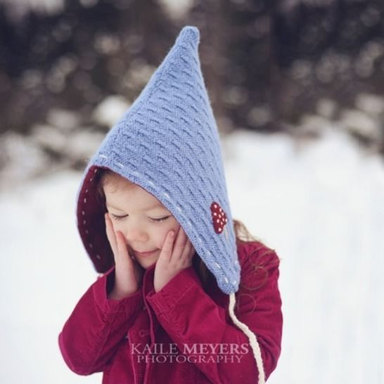 Twig and Tale Pixie Hat - Unisex PDF Sewing Pattern - Sizes Infant to age 10 at Makerist - Image 1