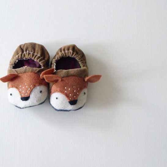 Twig and Tale Animal Baby Shoes - PDF Sewing Pattern at Makerist - Image 1