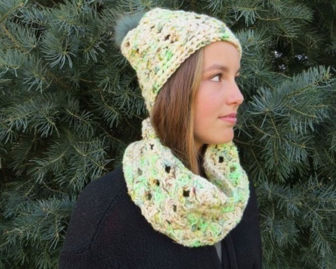 Lucky Charms - ensemble tuque + col chez Makerist - Image 1
