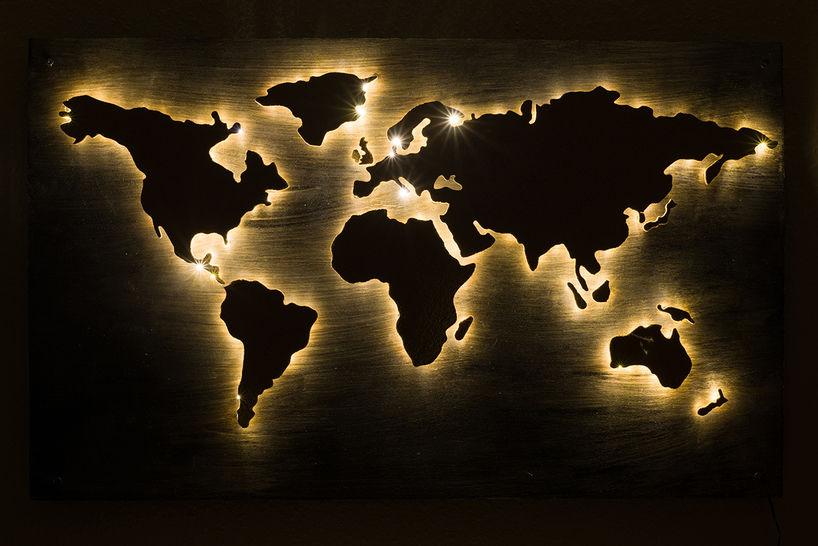 Bastelanleitung: Die Welt als Pinnwand bei Makerist - Bild 1