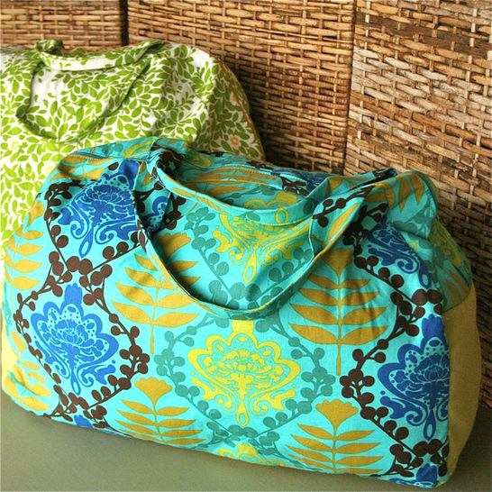 Make Your Getaway Duffle Bag Sewing Pattern at Makerist - Image 1
