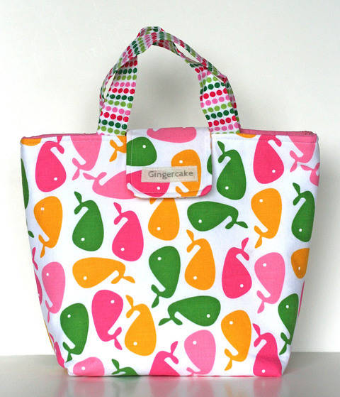 Waste Free Lunch Bag Sewing Pattern at Makerist