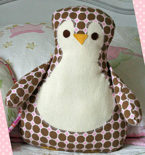 Annie's Penguin Sewing Pattern at Makerist