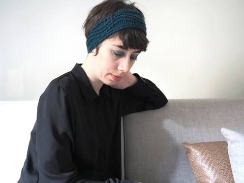 Headband Shoal - explications tricot chez Makerist