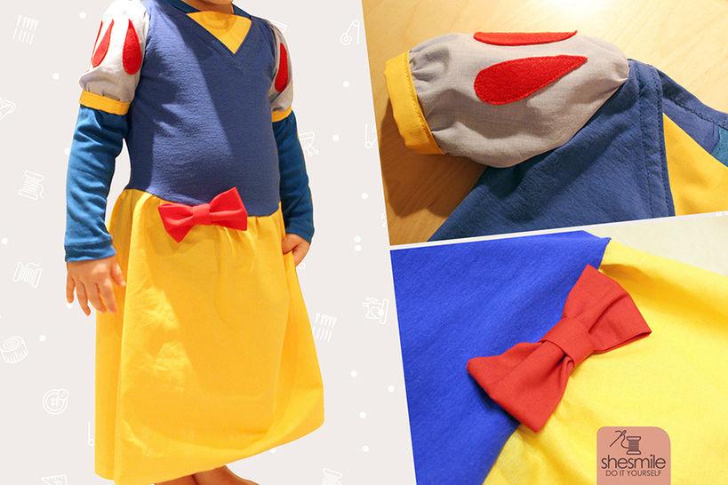 """Kostüm """"Prinzessin Schneewittchen"""" (Nähanleitung & Schnittmuster) bei Makerist - Bild 1"""