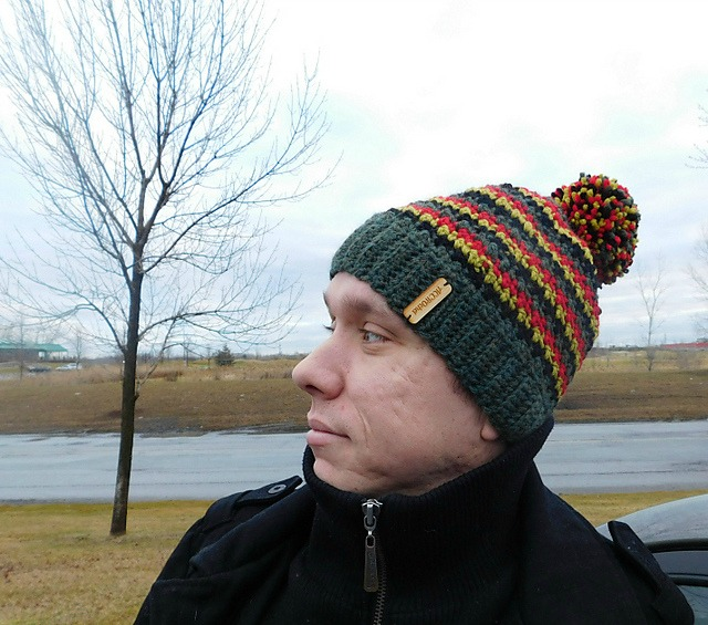 Da Boss - tuque à crocheter