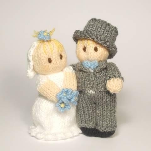 Bride and Groom Wedding Bitsy Baby Dolls at Makerist