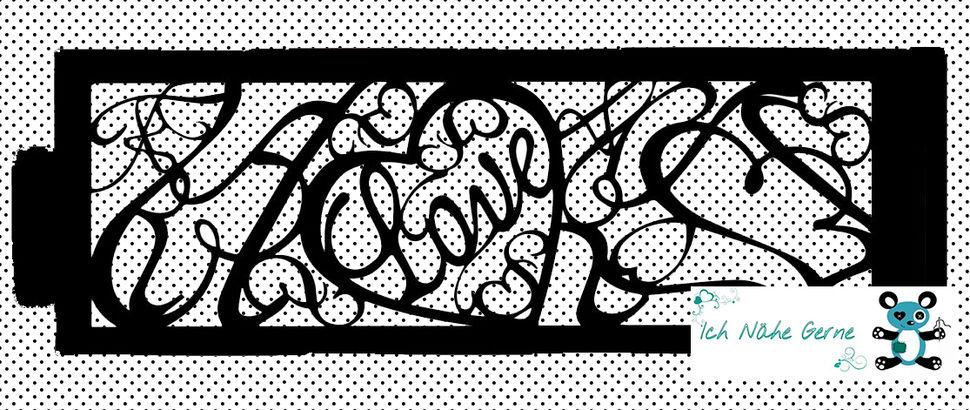 Plotterdatei Love Kerzenhülle / Karte bei Makerist - Bild 1