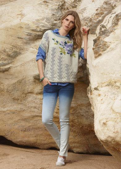 Shirt, Pullunder Viridiana Strickanleitung bei Makerist - Bild 1