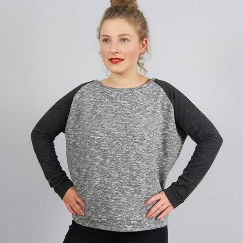 Madame MONA - Sweater raglan XS-L - couture chez Makerist