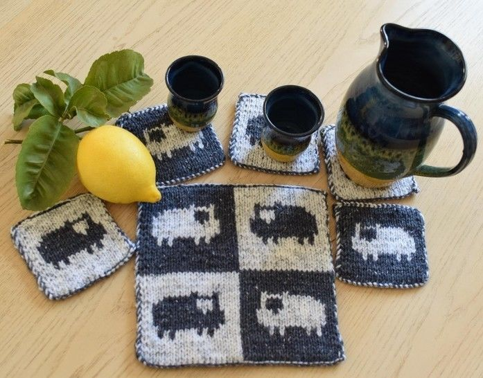 Sheep Coasters and Table Mat at Makerist - Image 1