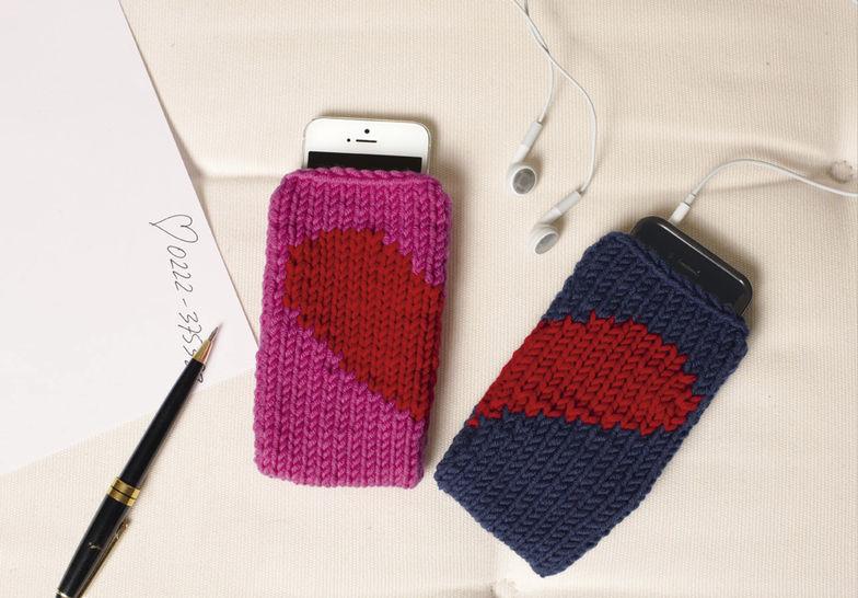 Handytasche Handy Candy Strickanleitung bei Makerist - Bild 1
