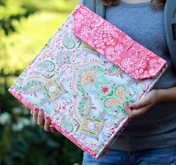 Notebook Cover PDF Sewing Pattern at Makerist - Image 1