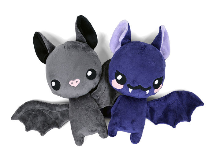 Floppy Bat Stuffed Animal Toy Sewing Pattern at Makerist - Image 1