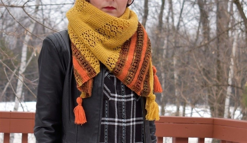 """Versatile Blanket scarf / square shawl""  at Makerist - Image 1"