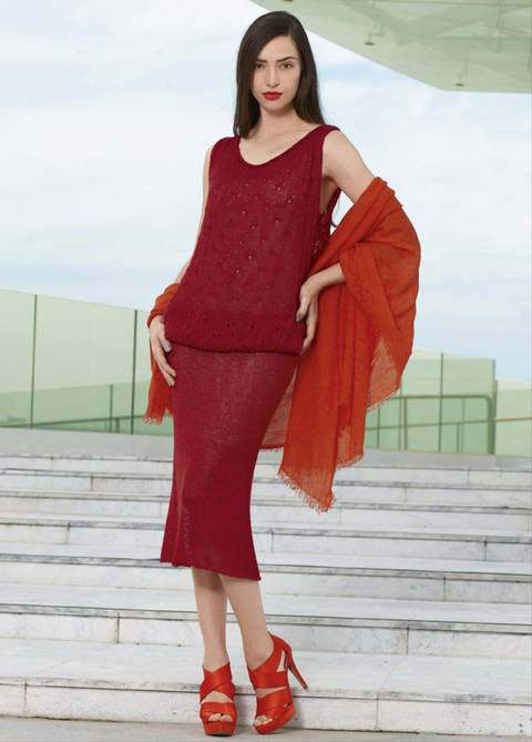 Kleid Aimara Strickanleitung