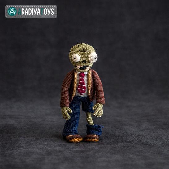 Modèle au crochet de Zombie de «Plantes vs. Zombies» chez Makerist - Image 1