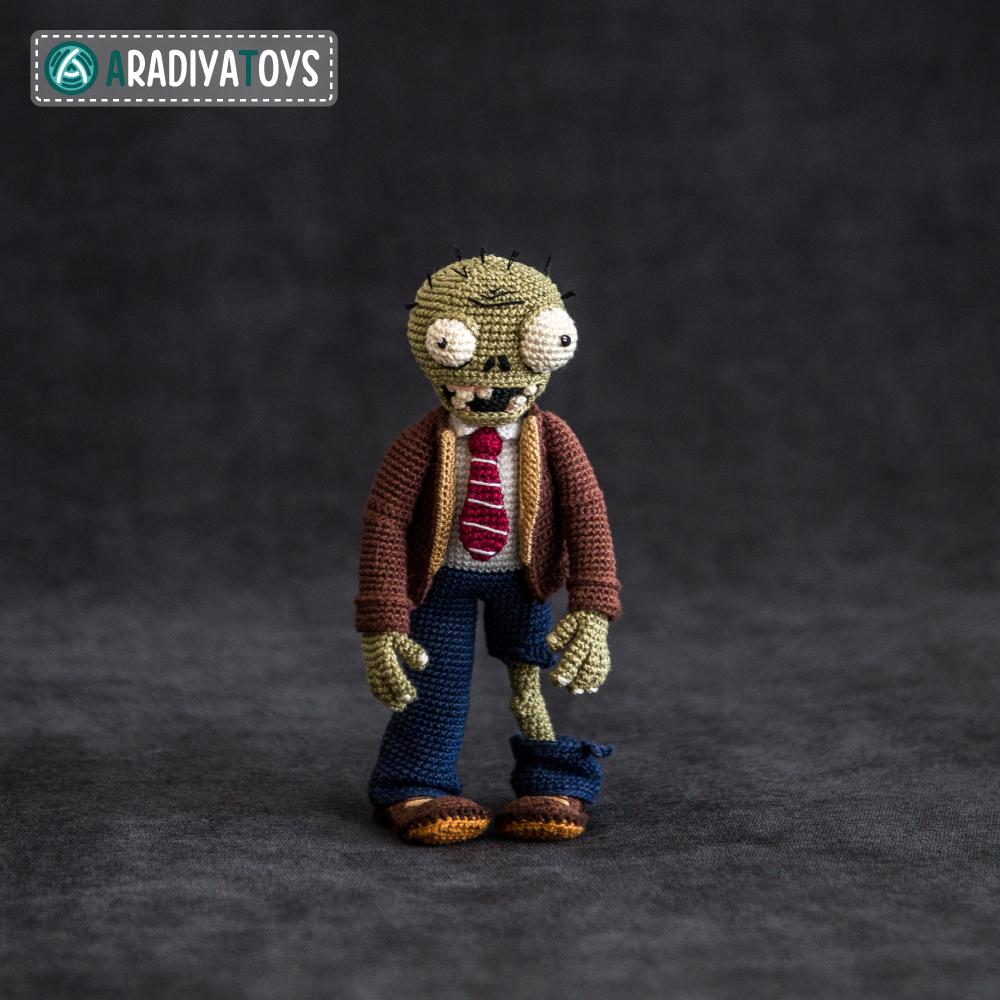 Modèle au crochet de Zombie de «Plantes vs. Zombies»