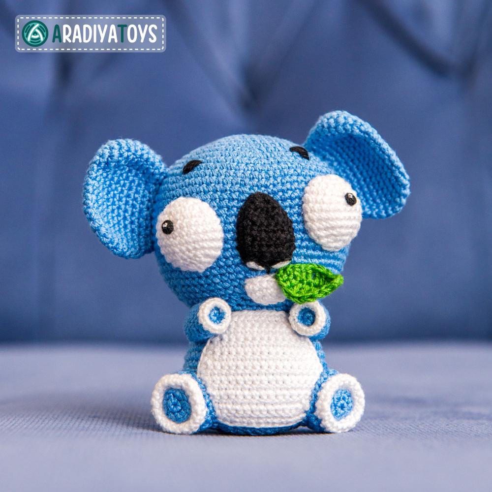 Modèle au crochet du Koala Noah de «AradiyaToys Design»