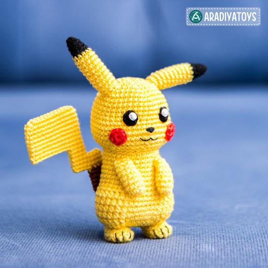 Modèle au crochet de Pikachu de «Pokemon» chez Makerist - Image 1