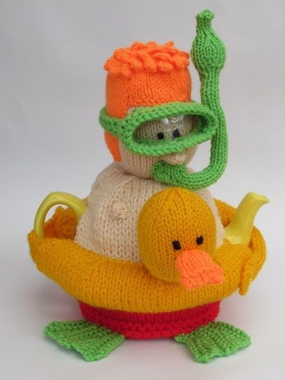Snorkeler Tea Cosy Knitting Pattern at Makerist - Image 1