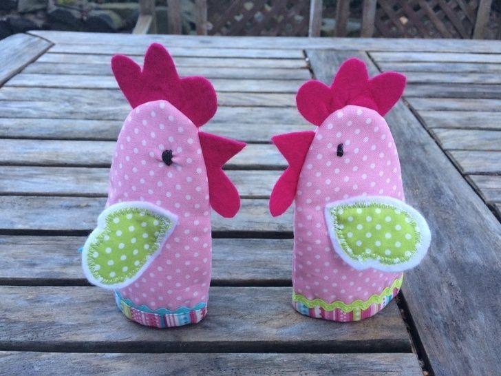 Nähanleitung und Schnittmuster Stoffkorb Hühnerglück bei Makerist - Bild 1