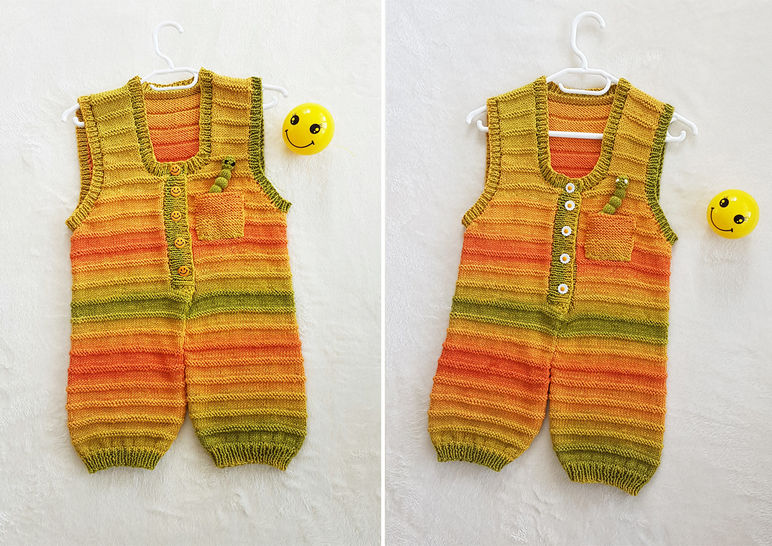 Sunshine Smiles Playsuit 0 - 2 years at Makerist - Image 1