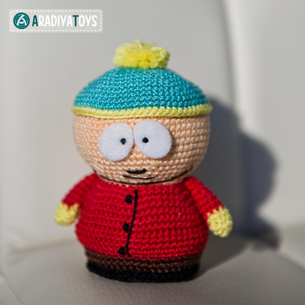 Modèle au crochet de Eric Cartman de «South Park»