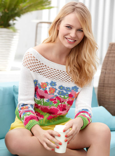 Damen-Pullover Maliona bei Makerist - Bild 1