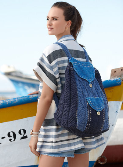Damen-Tasche BackPack bei Makerist - Bild 1
