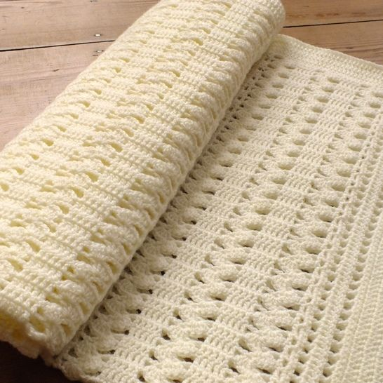 The Zigzag Crochet Baby Blanket  at Makerist - Image 1
