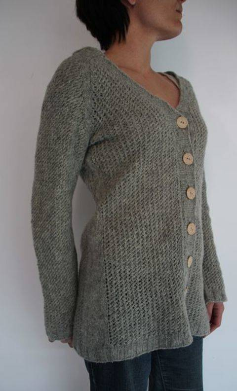 Softness cardigan pattern