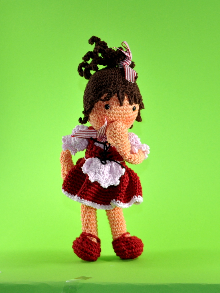 doll Lisa crochet pattern