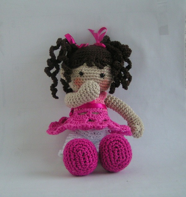 doll Susi crochet pattern