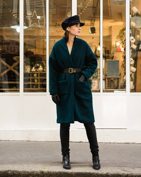 RIGA coat - sewing pattern with detailed instructions at Makerist