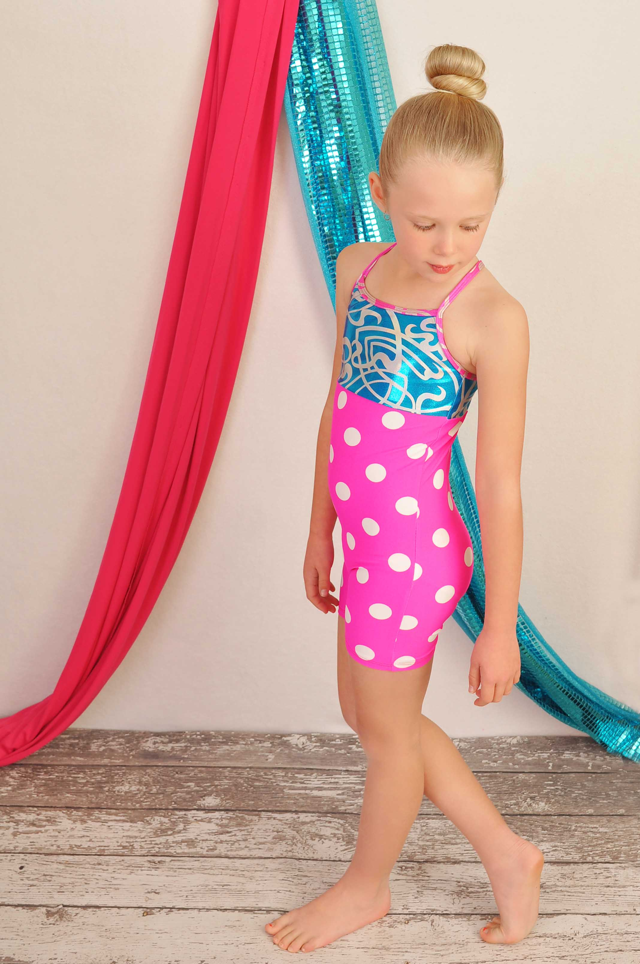 Casey Unitard for Gymnastics or Dance Sewing Pattern in Girls Sizes 2-14