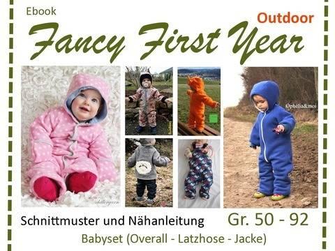 Ebook FancyFirstYear - Outdoor-Schnitte Babykleidung