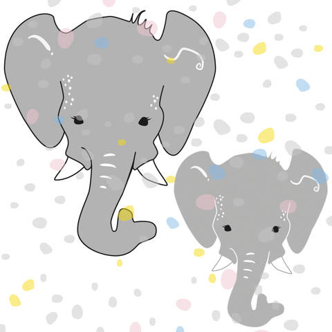 Plottermotiv Elefant