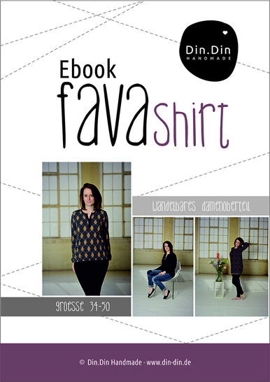 Ebook Fava - Damenoberteil Shirt Longshirt bei Makerist - Bild 1