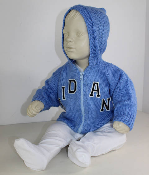 Baby Zip Up Hoodie at Makerist