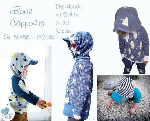 """eBook Hoodie """"Cappo4us"""""""