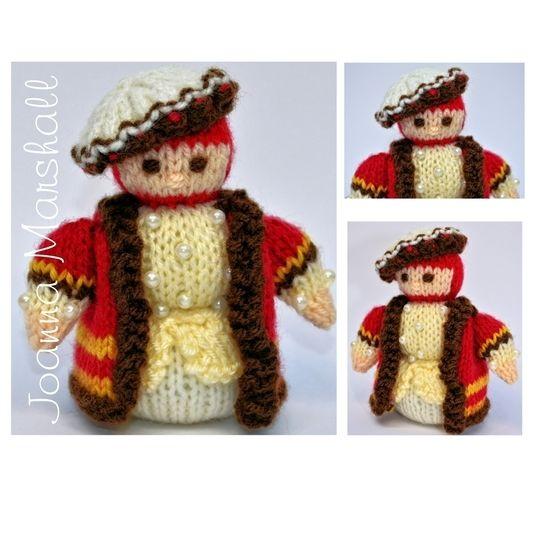 Tudor Gentleman 1536 Doll  at Makerist - Image 1
