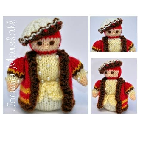 Tudor Gentleman 1536 Doll  at Makerist