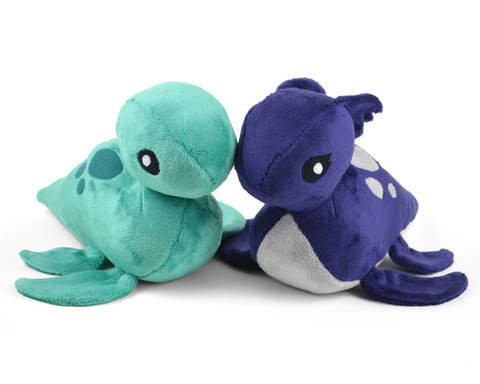 Loch Ness Monster Nessie Plush Toy Sewing Pattern at Makerist