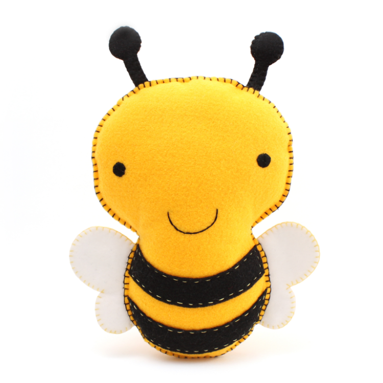 Bumblebee Hand Sewing Pattern