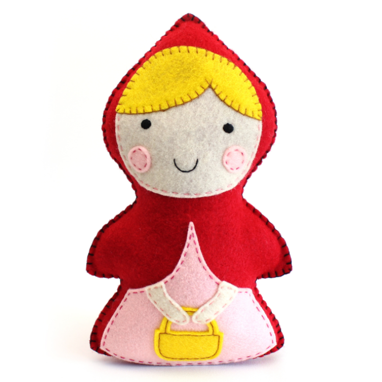 Little Red Riding Hood Hand Sewing Pattern