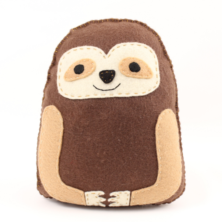 Sloth Sewing Hand Sewing Pattern