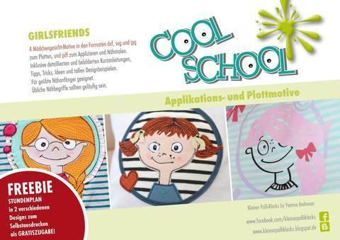 Plotterdatei • Cool School • Girlfriends